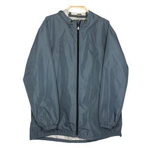 Old Navy Raincoat Light Blue Men's Jacket